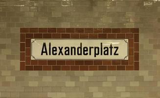 berlin alexanderplatz foto