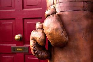 luvas de boxe antigas