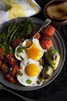 ovos e vegetais
