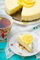 cheesecake de limão foto