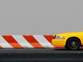 táxi em nova york foto