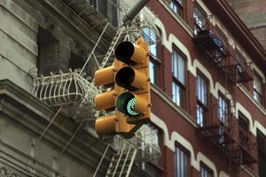 semáforo, nova iorque foto