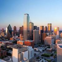 paisagem urbana de dallas, texas foto