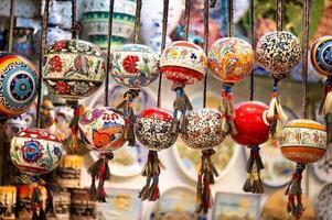 contas orinetal no grande bazar, istambul, turquia foto