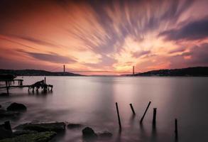ponte do bósforo exposição longa foto