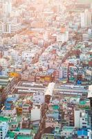 paisagem urbana de busan foto