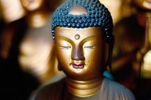 Buda no templo de seokbulsa foto