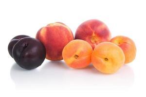 frutas - frutas de caroço. foto