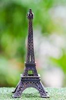miniatura da torre eiffel foto