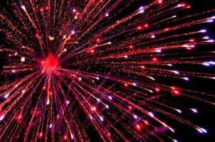 Show de fogos de artifício