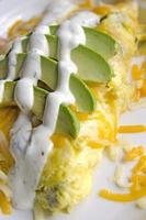omelete da califórnia foto