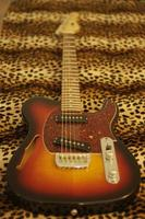 violão leopardo