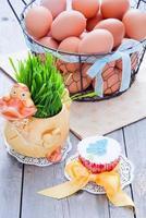 cupcake da páscoa foto