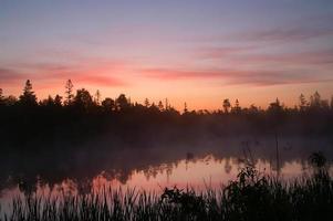 nascer do sol de tobermory foto