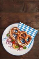 café da manhã da Baviera foto