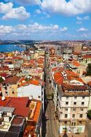 vista de istambul turquia foto