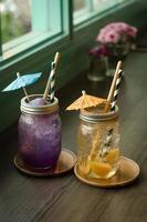 bebidas de verão foto