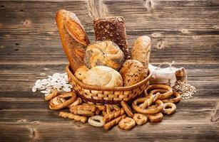pão e pãezinhos