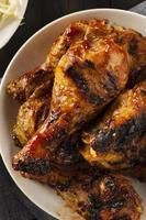 frango caseiro de churrasco grelhado