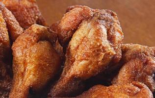 pernas de frango frito foto