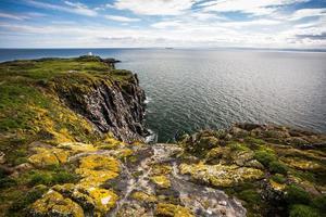 ilha de maio, escócia foto