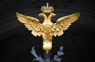 águia dupla - emblema da rússia foto