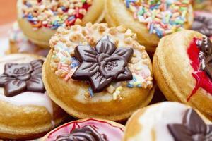 mini donuts foto
