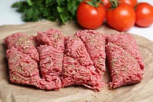 carne moida foto
