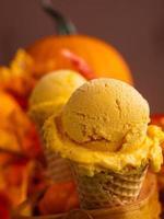 gelato de abóbora foto