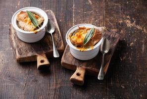 sopa de cebola foto