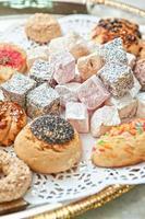 sobremesa delícia turca foto