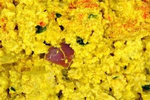 salada de ovo de tofu foto