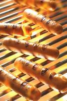 salsicha grelhada, cachorro-quente