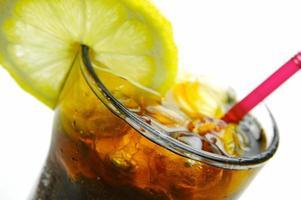 cola de limão foto