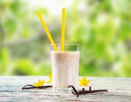 leite fresco foto