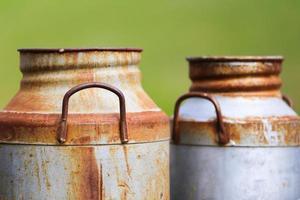 vasilhas de leite foto