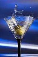 respingo de martini foto