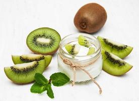 iogurte de kiwi
