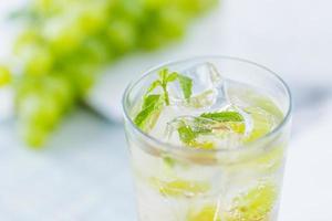 bebida de uva foto