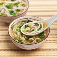 sopa de missô foto