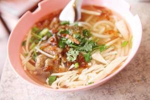 macarrão vietnamita foto