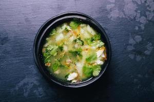 sopa deliciosa foto