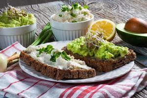 café da manhã saudável. foto