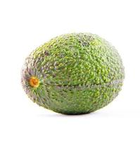 abacate isolado no branco foto
