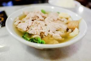 comida quente em cingapura foto