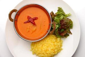 caril vermelho tailandês foto