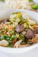 Macarrão de arroz foto