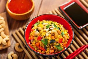 comida de arroz