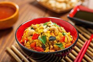 comida de arroz foto