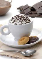 pausa para chocolate. foto